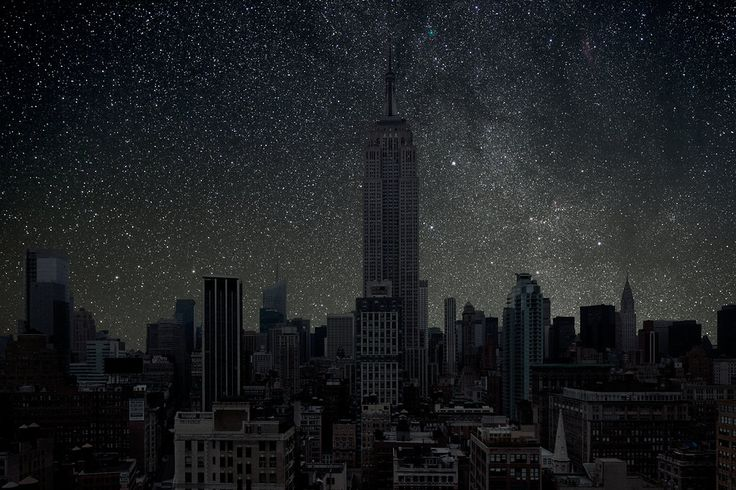 This Is What the Sky Could Look Like Over New York If There Was No Light Pollution