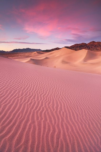Ibex Sand Dunes / Death Valley National Park, CA