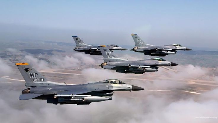 F-16 Fighting Aircraft