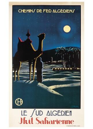 Le Sud Algerien Art Print