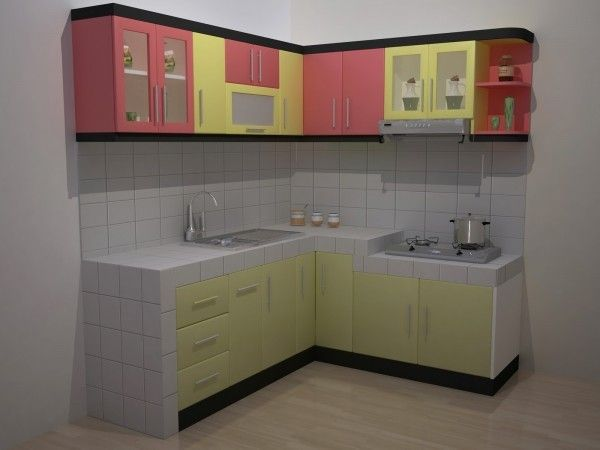 ruang dapur untuk rumah minimalis Desain Interior