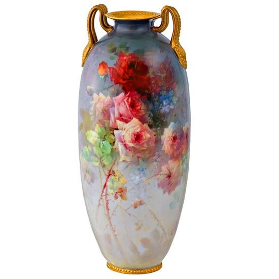Rose Vase by Edward Raby