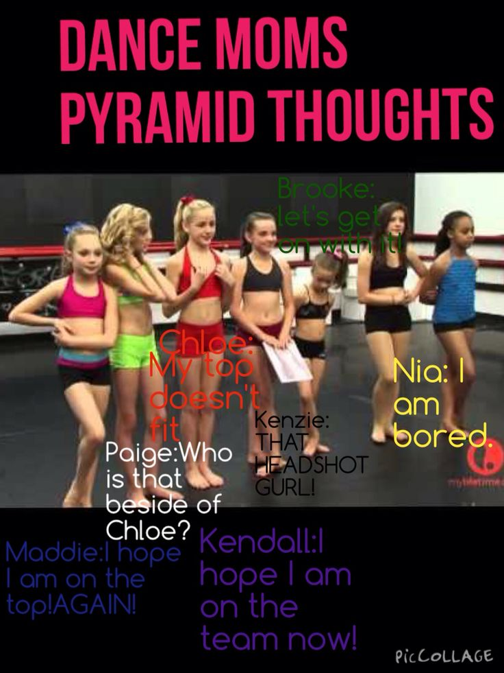 PYRAMID THOUGHTS-Dance Moms