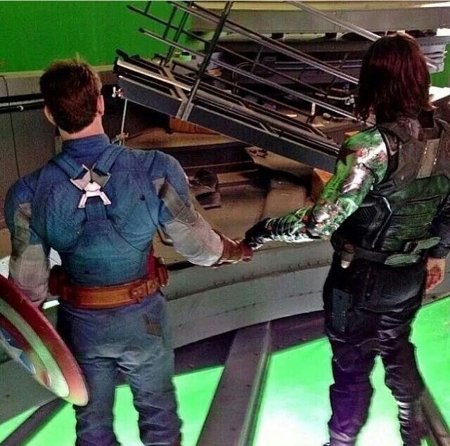 Winter Soldier and Captain America