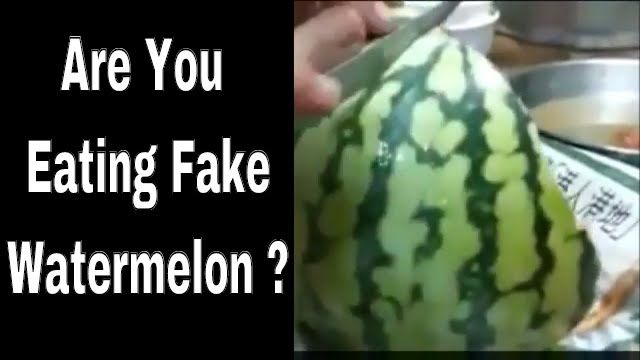 Are You Eating Fake WaterMelon ?? Watch This Chinese Watermelon !! Viral...