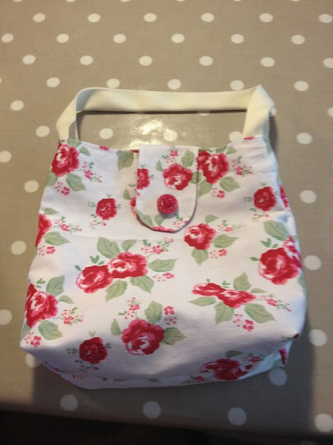 "From Claire of Crafty Little Moments: ""Another of my tea towel bags"" <3"