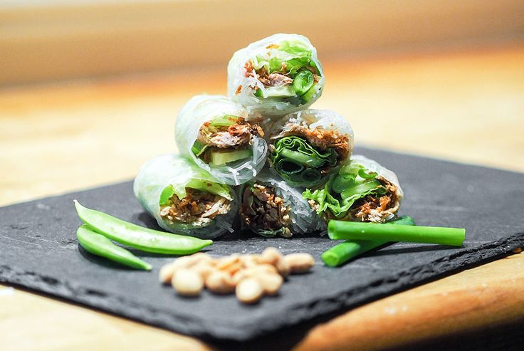 Recipe: Vietnamese Springrolls | CathInTheCity