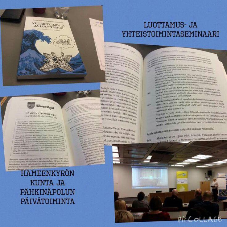 Pähkinäpolku mukana kirjassa Luottamus- ja yhteistoiminta.
