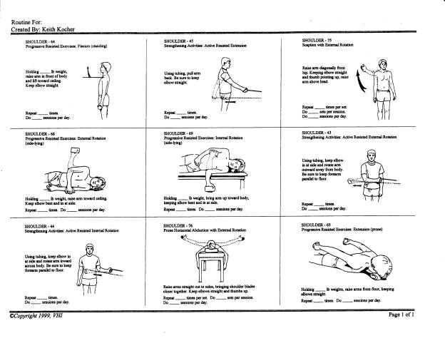 Pinterest Shoulder Rehab Shoulder Rehab Exercises and Exercise