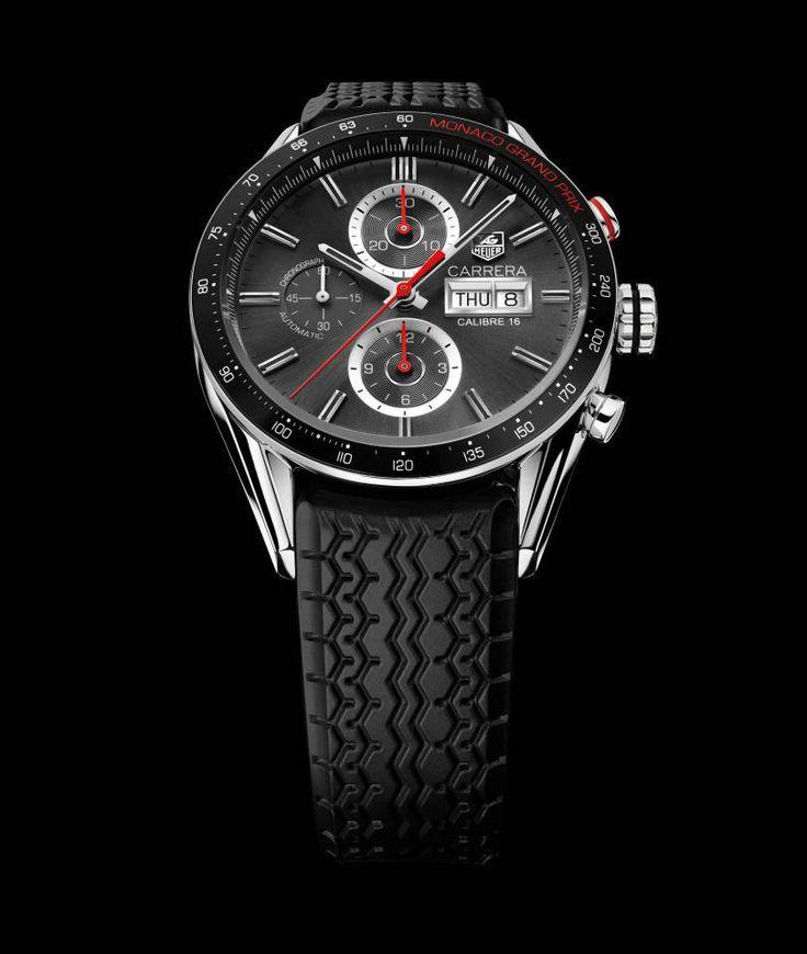 Prepárense para el Gran Premio de Monaco Grand Prix con el nuevo TAG Heuer Carrera Calibre 16 Day Date Monaco Grand Prix Edition.
