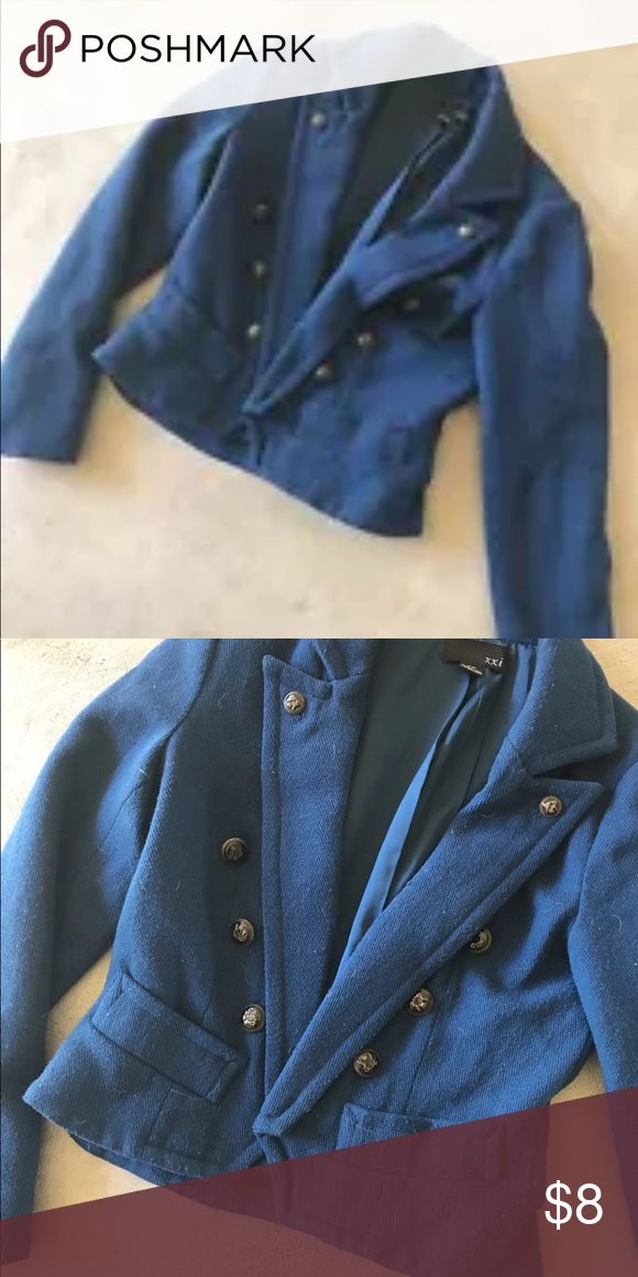 Jacket Woman's military style jacket Forever 21 Jackets & Coats Blazers