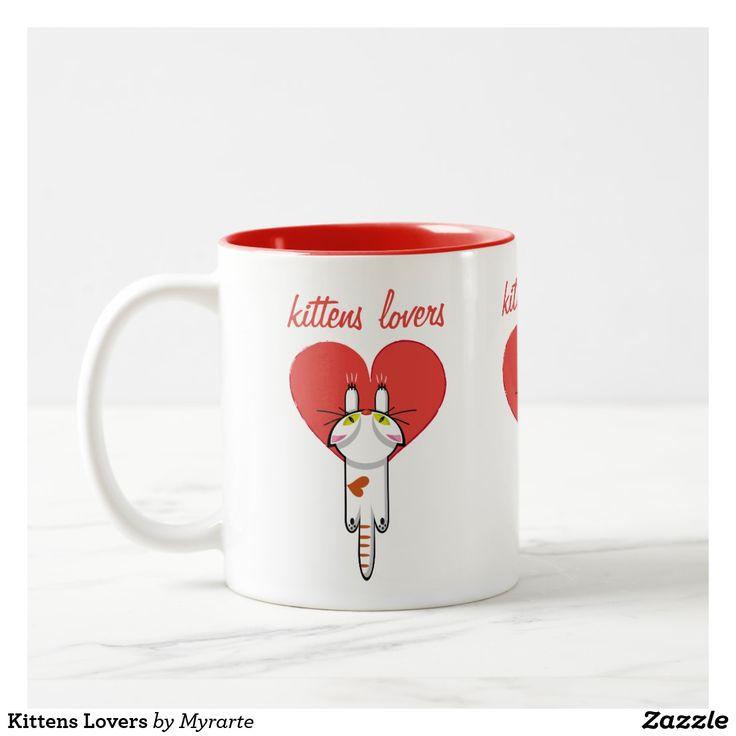 Kittens Lovers. Gato, cat, kitten. Love. Regalos, Gifts. Producto disponible en tienda Zazzle. Tazón, desayuno, té, café. Product available in Zazzle store. Bowl, breakfast, tea, coffee. Día de los enamorados, amor. Valentine's Day, love. Link to product: https://www.zazzle.com/z/yeowk?rf=238167879144476949 #ValentinesDay #SanValentin #love #taza #mug #cat