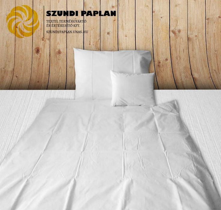 Szállás textil: 3 részes ágyneműhuzat garnitúra, gombolós/bujtatós, 140x190 cm, fehér, Gombos szett tartalma: 1 db paplanhuzat:     140×190 cm, fehér 1 db nagypárnahuzat:  70× 90 cm, fehér 1 db kispárnahuzat:     40× 50 cm, fehér vagy Bújtatós szett tartalma: 1 db paplanhuzat:    140×190×30 cm, fehér 1 db nagypárnahuzat:  70× 90×20 cm, fehér 1 db kispárnahuzat:    40× 50×15 cm Anyag: kevert szálas vagy pamut, válasszon a legördülő menü segítségével! Az ár a válasz...
