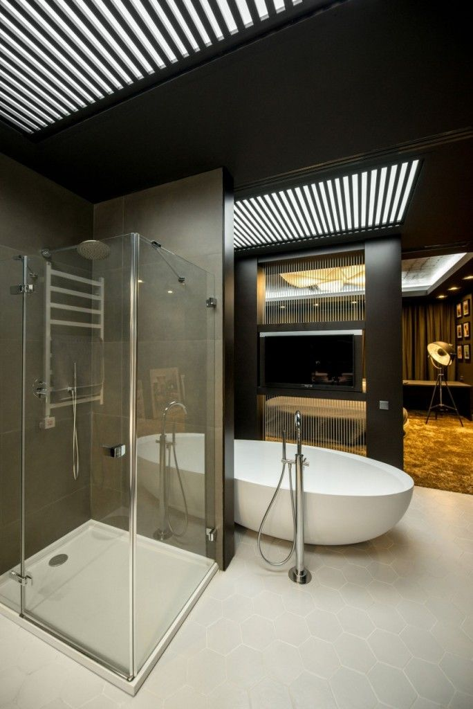 Best Bedroom Ideaswith Attached Bathroom Images On Pinterest - Bedroom attached bathroom design