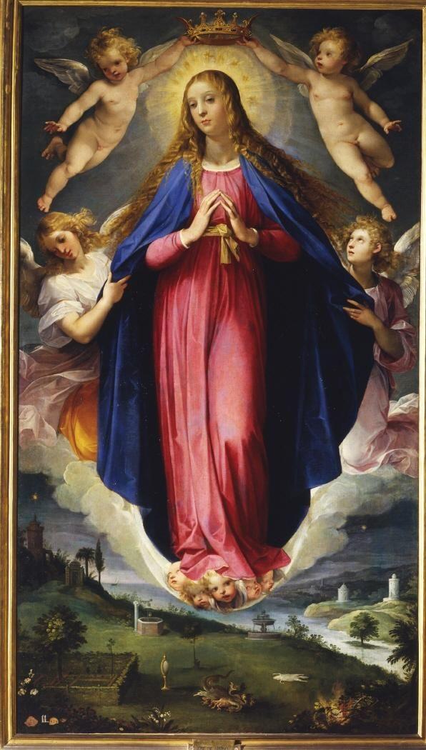 Caballero de Arpino, Inmaculada