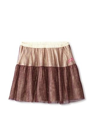 70% OFF Desigual Girl's Reversible Holiday Skirt (Pink/Gold)
