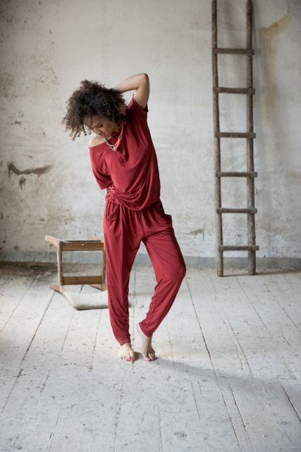 Kombinezon Rowanberry Jumpsuit |www.kokoworld.pl #handmade #africa #fairtrade #jumpsuit