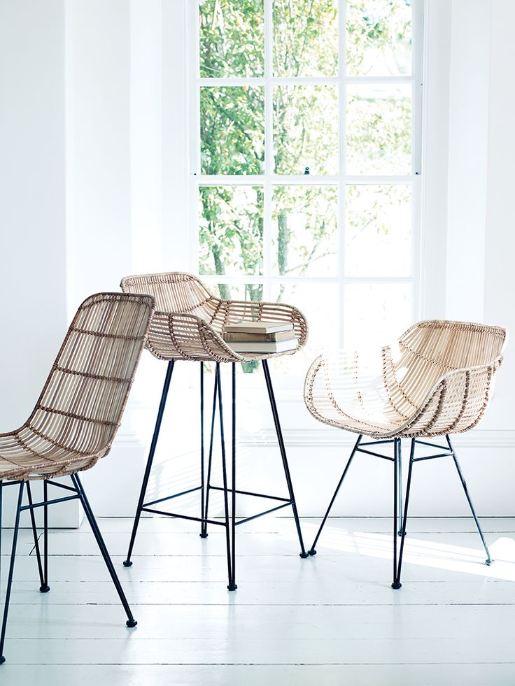 Flat Rattan High Stool | Extension Play Area | Pinterest | Rattan, Stools  And Play Areas