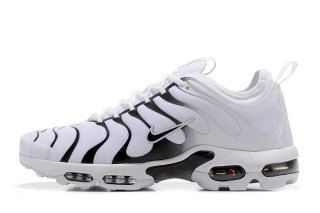 028c33bbc2 Mens Nike Air Max Plus Tn Ultra White Black 526301 009 Running Shoes ...