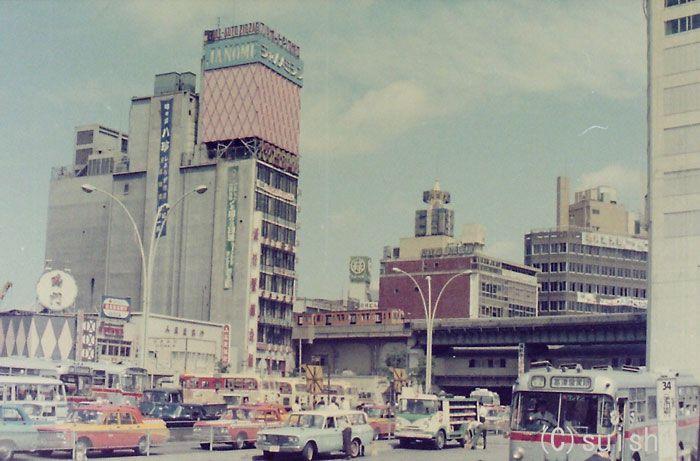 【今昔比較】渋谷駅南口(1970~2012) | SUISHI'S PHOTO