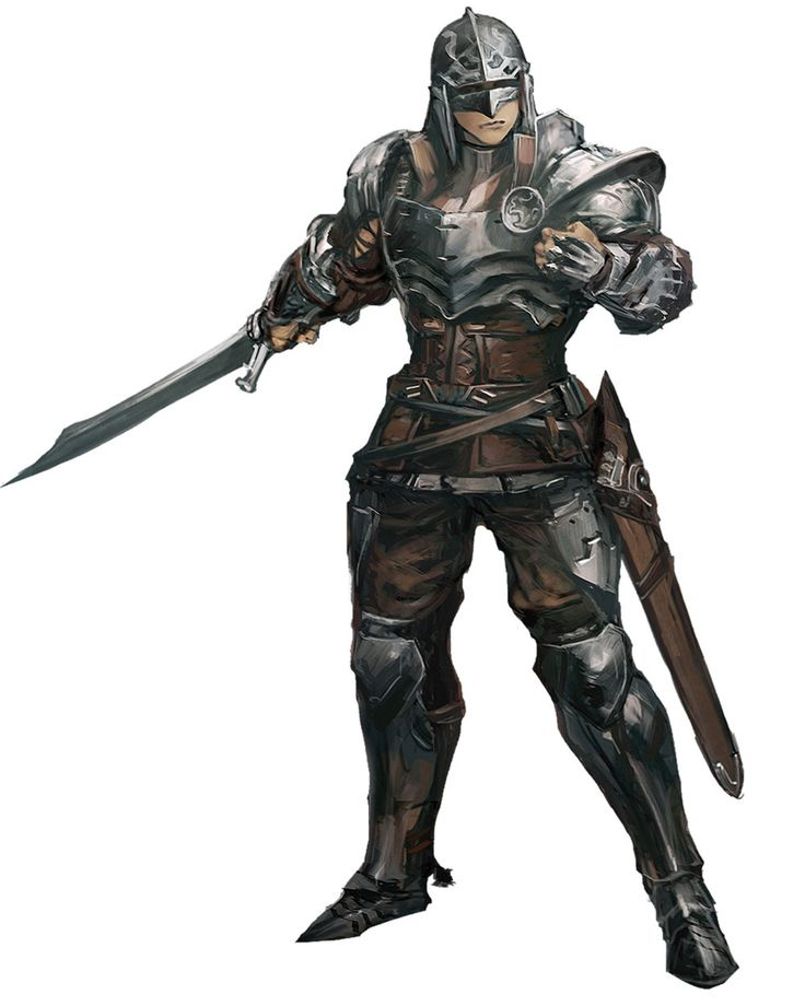 ✧ #characterconcepts ✧ Fighter Concept - Stranger of Sword City [RPG]