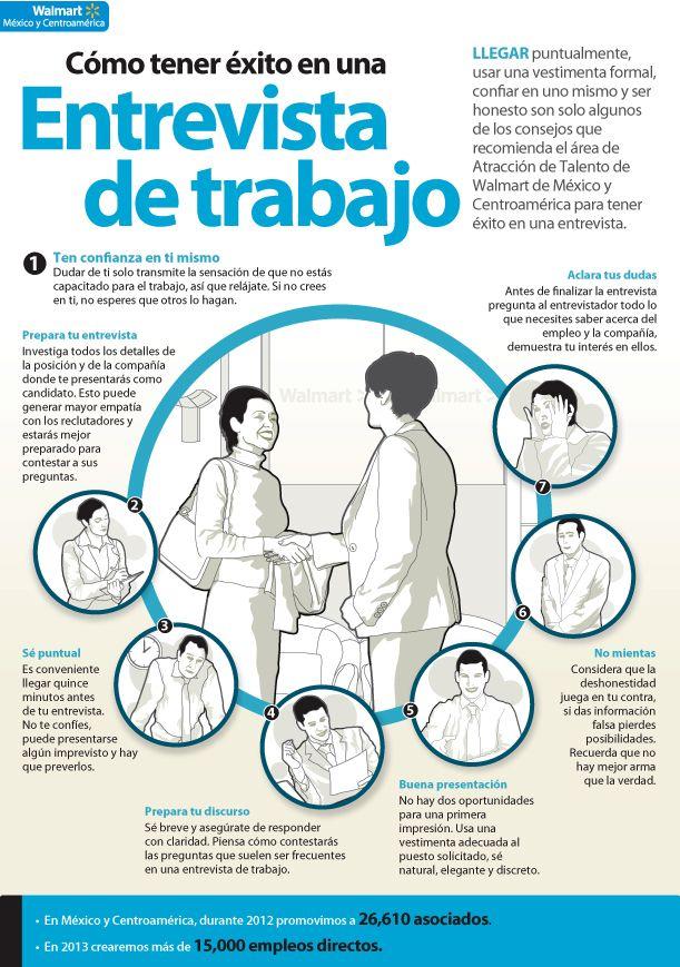 Como comportarte en una #EntrevistadeTrabajo