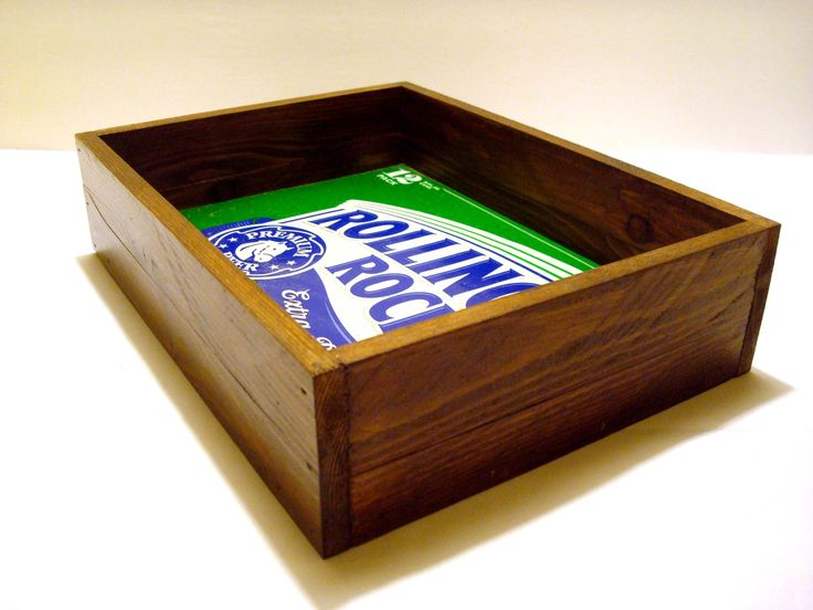 Handcrafted Rolling Rock Beer Tray - Home Decor, Bar Decor, Valet Tray by TexasTieDyeGuy on Etsy