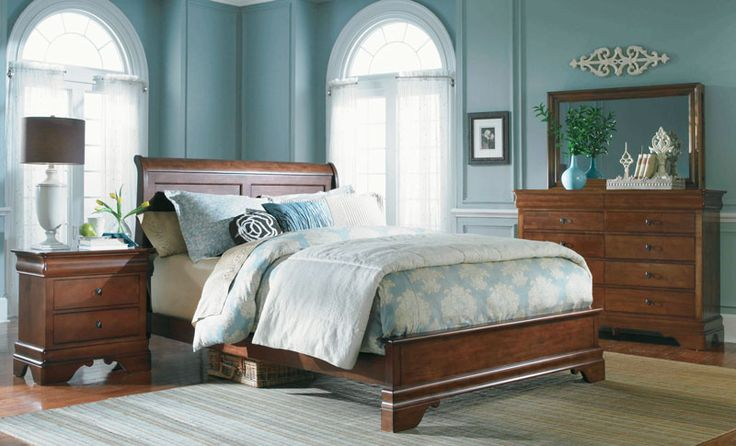 Grand Home Furnishings Solid Maple 4 Piece Bedroom Solid Maple And Select Hardwoods Cherry