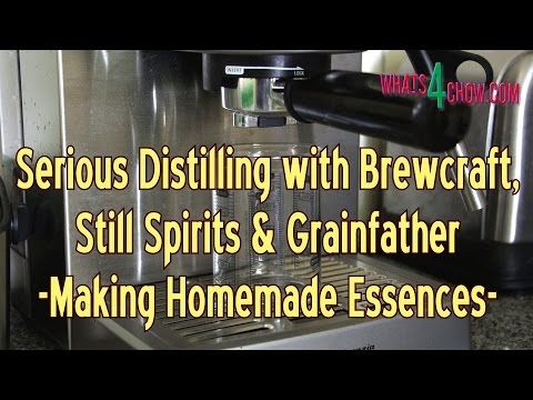 Serious Distilling with Brewcraft, Still Spirits and Grainfather - How t...