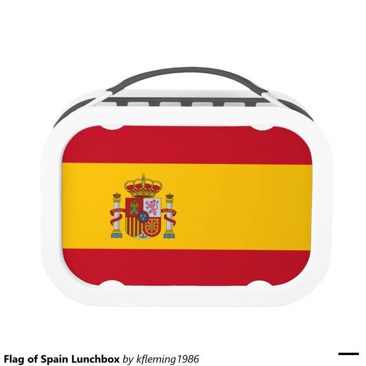 Flag of Spain Lunchbox