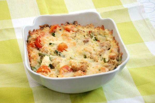 Quinoa kylling fad