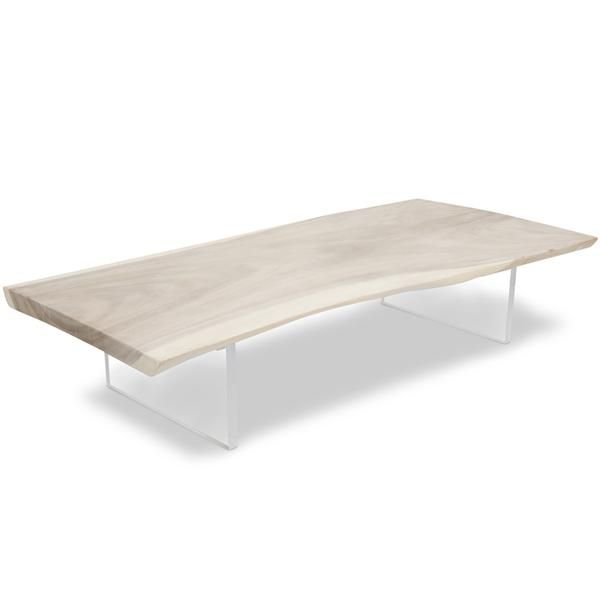 Bleached Slab Coffee Table 55 Coffee Tables Accent Tables