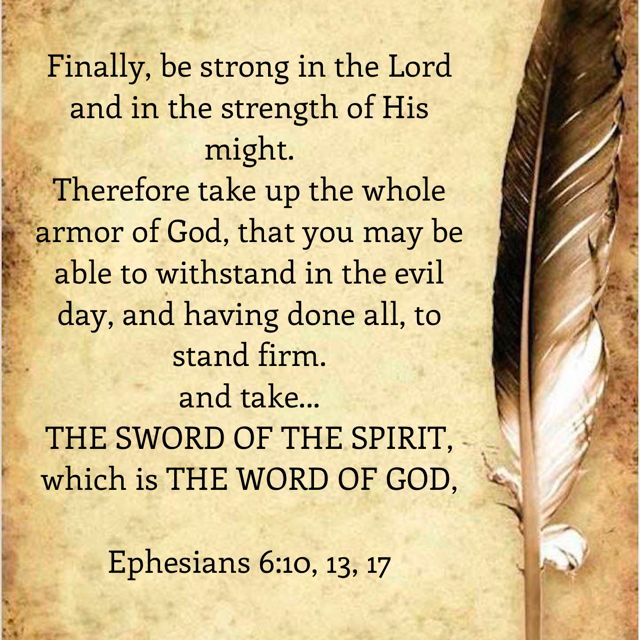 Sword In The Bible Quote: 25+ Best Ideas About Word Of God On Pinterest