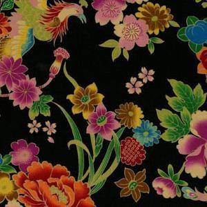 Japanese Phoenix fabric.