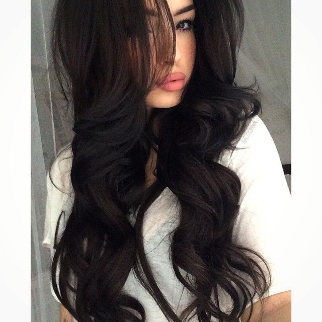 28 Best Dark Brown Images On Pinterest Hair Color Hair Colors And