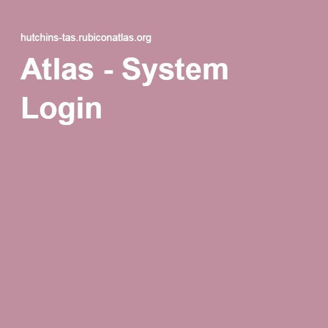 Atlas - System Login