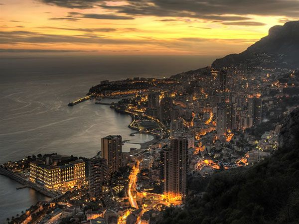 sunset city: Monaco France, Buckets Lists, Favorite Places, Beautiful Places, Monte Carlo, Montecarlo, Cityscape, French Riviera, Photo