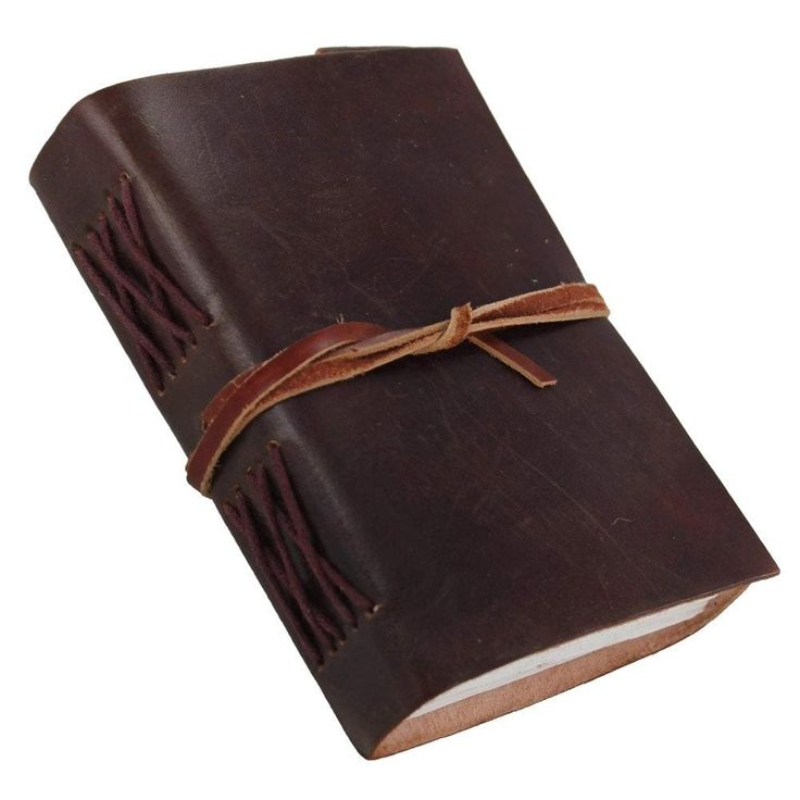 Leather Cover Handmade Diary Journal Book, Multi-Colored