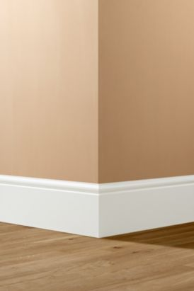 Satin White Finished Torus Skirting (L)3600 x (W)167mm