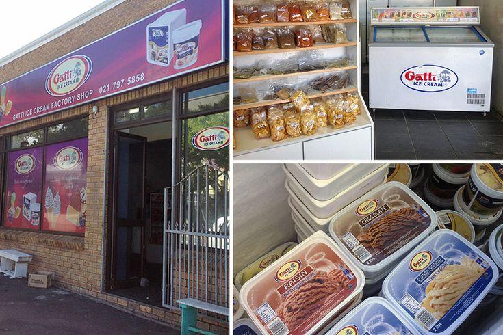 Gatti Ice Cream Factory Shop - Cape Town factory shops - Photos by Rachel Robinson