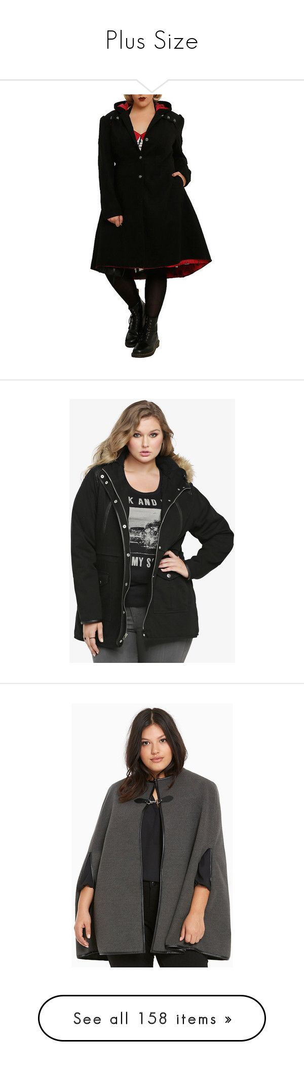 """""""Plus Size"""" by chrissy-cdm ❤ liked on Polyvore featuring costumes, coven halloween costumes, american halloween costumes, horror costumes, womens plus costumes, salem witch costume, plus size women's fashion, plus size clothing, plus size outerwear and plus size jackets"""