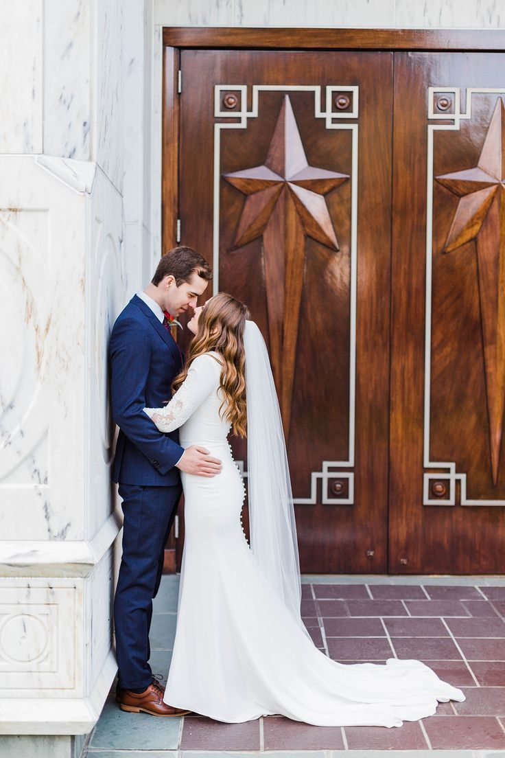 Spring Wedding at the Beautiful Portland Temple