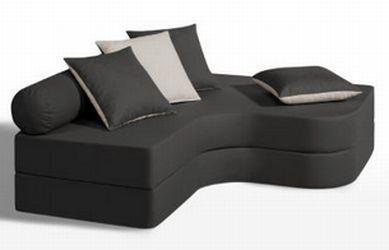 Banquette lit d angle Bultex confort mousse gris ecru - 218,99 € livré #pas cher!