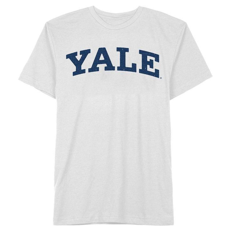 Men's Yale Dog T-Shirt White