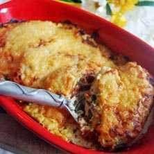 Kycklinggratäng med dijonsenap, soltorkad tomat och basilika
