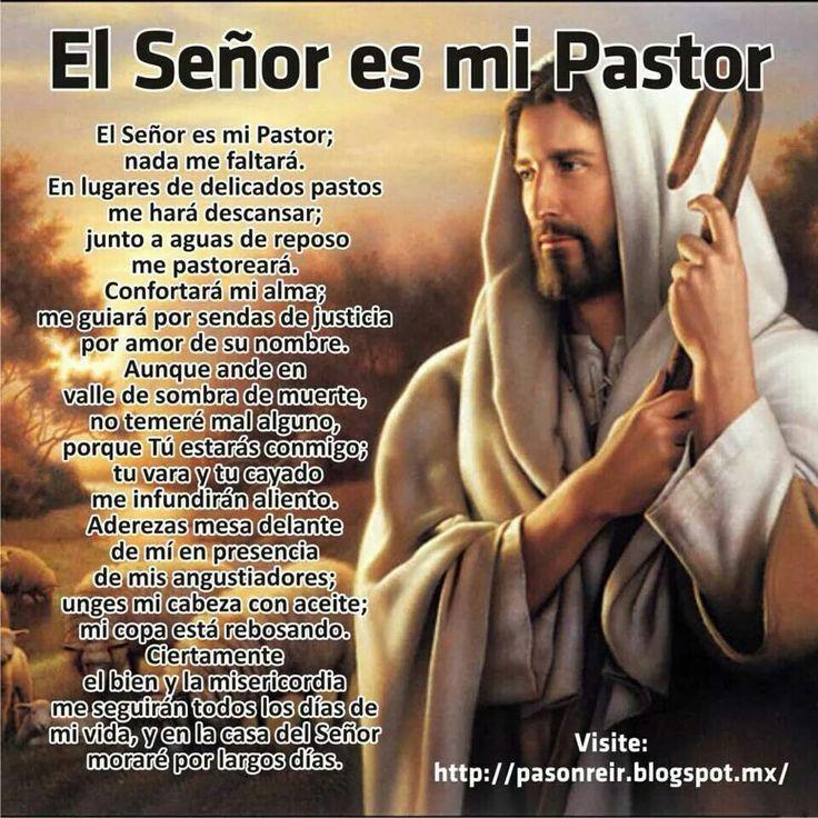 salmo spanish god catholic oraciones jesus prayer psalms oracion catolicas pastor frases quotes fe cristianas prayers catolico salmos water 91