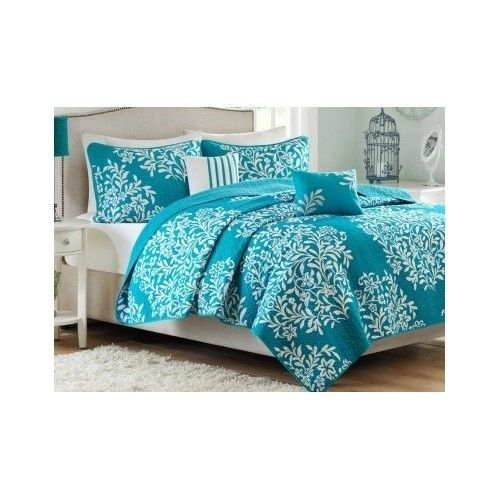 82 best Bedding images on Pinterest | Bed sizes, Coral and Cottages : teal quilt bedding - Adamdwight.com