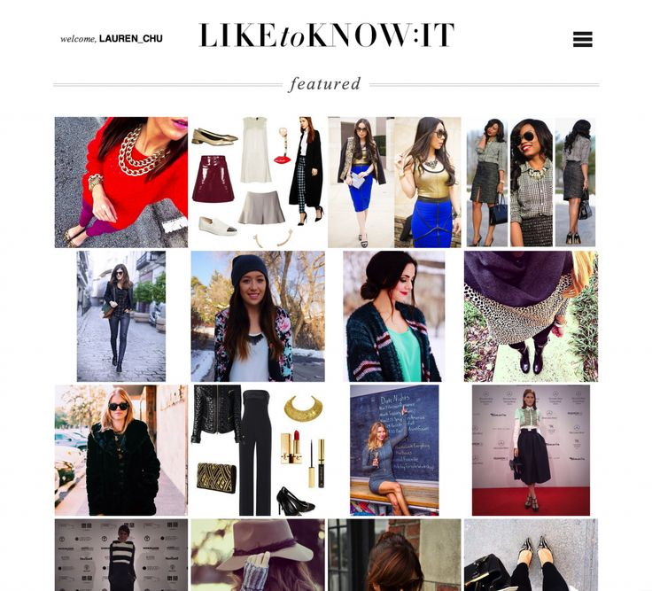 "Most recently, rewardStyle launched www.LIKEtoKNOW.it, a service concepted by a content creator for content creators and their followers—""the socially-inspired shopper"". It's the only destination to access full style product information at the source of inspiration—a ""like"" on Instagram."