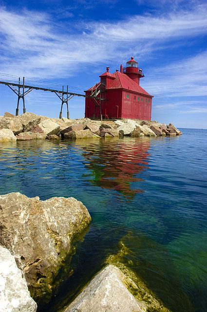 Sturgeon Bay Lighthouse ~ Wisconsin
