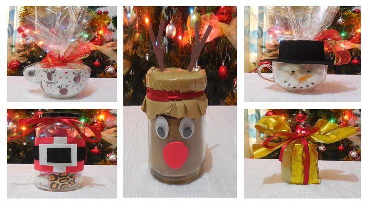 5 Ideas Para Regalar en Navidad!! ♥ 1era parte♥ Regalos economicos♥ DIY NAVIDAD